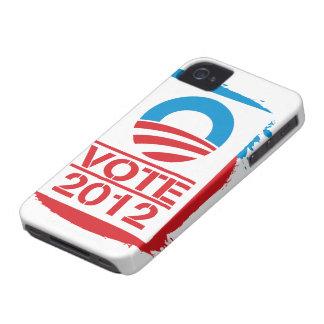 Vote Obama 2012 iPhone 4 Case