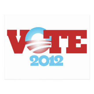 VOTE Obama 2012 Postcard