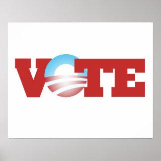 Vote Obama 2012 Poster