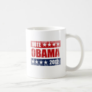 VOTE OBAMA 2012 SIGN Vintage.png Coffee Mug