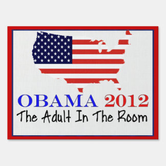 VOTE OBAMA 2012 YARD SIGN