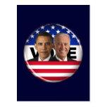 Vote Obama & Biden Postcard