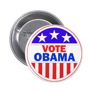 Vote Obama Button