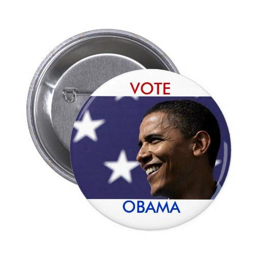 Vote Obama Buttons