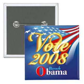 Vote Obama - Campaign Button