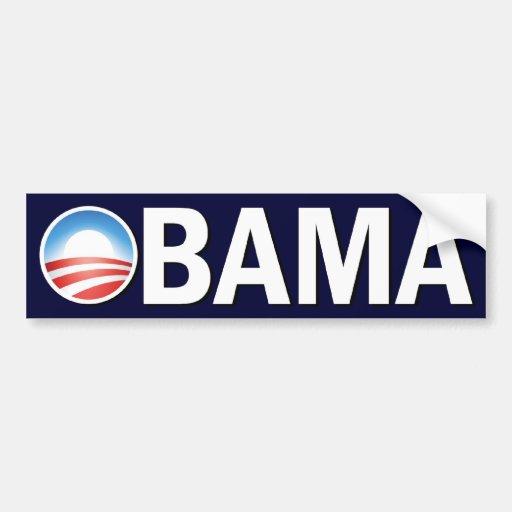 Vote Obama Car Bumper Sticker