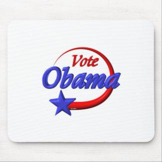 Vote Obama in 2012. Create the future Mouse Pad