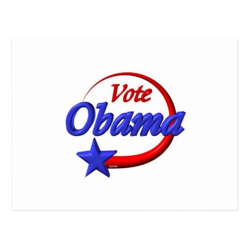 Vote Obama in 2012. Create the future Postcard