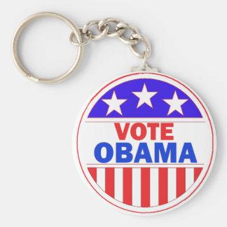 Vote Obama Keychain