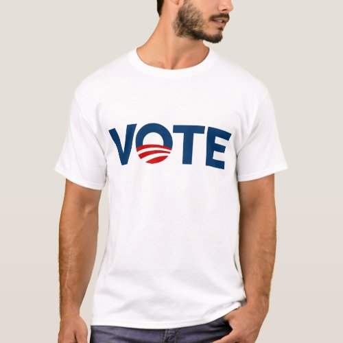 vote obama light shirt