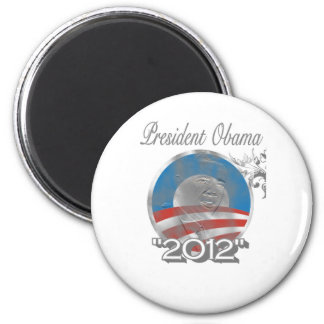 vote obama logo - image - 2012 2 inch round magnet