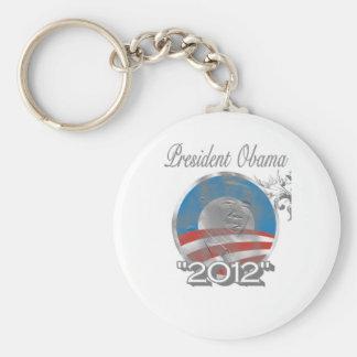 vote obama logo - image - 2012 basic round button keychain