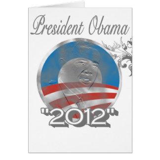 vote obama logo - image - 2012 card