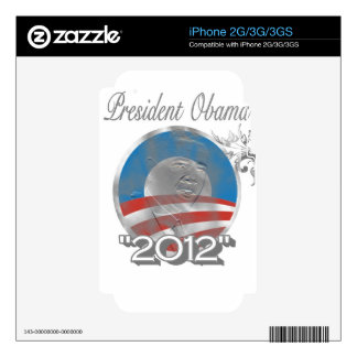 vote obama logo - image - 2012 iPhone 3 decal