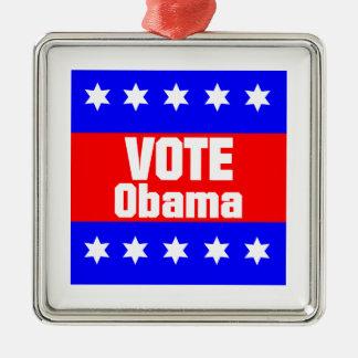 Vote Obama Metal Ornament