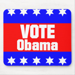 Vote Obama Mouse Pad