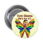 Vote Obama_ Pin