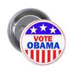 Vote Obama Pinback Buttons