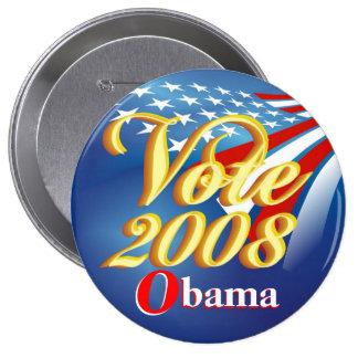 Vote Obama - Political Button