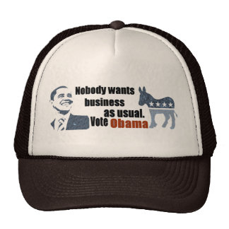 Vote Obama Retro Trucker Hat