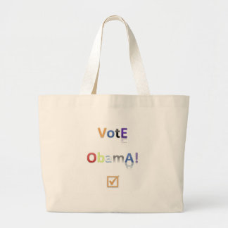 Vote Obama Style 2 Canvas Bags