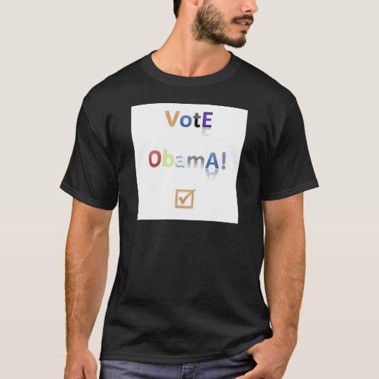 Vote Obama Style 2 T-Shirt
