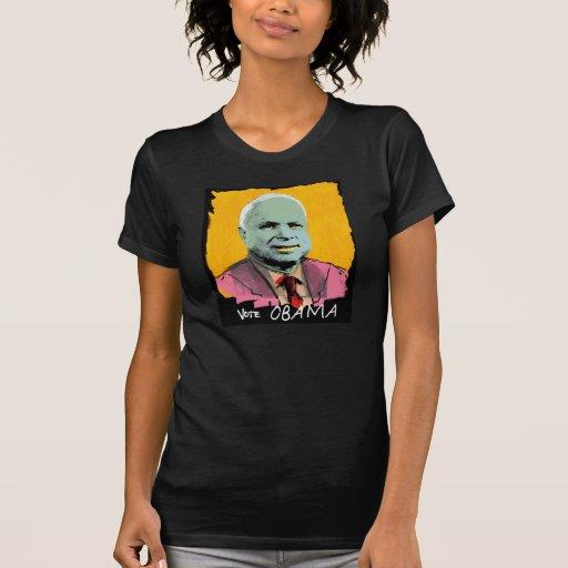 VOTE OBAMA T shirt (black)
