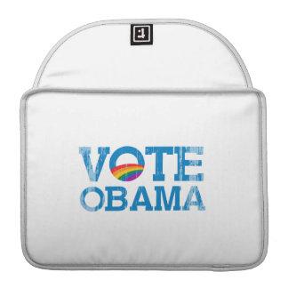 VOTE OBAMA Vintage.png MacBook Pro Sleeve