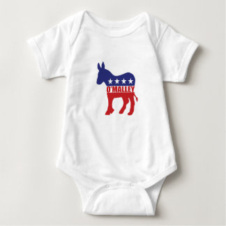 Vote Omalley Democrat Baby Bodysuit