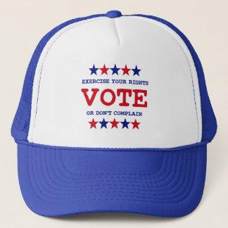 VOTE OR DON'T COMPLAIN TRUCKER HAT