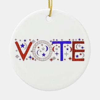 VOTE CHRISTMAS TREE ORNAMENT