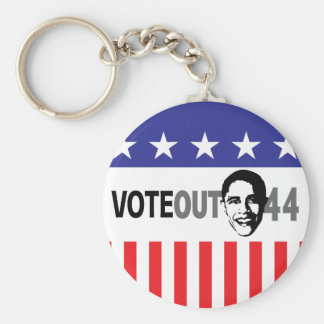 Vote Out 44 - Obama Keychain
