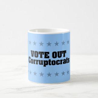 Vote Out Corruptocrats Classic White Coffee Mug
