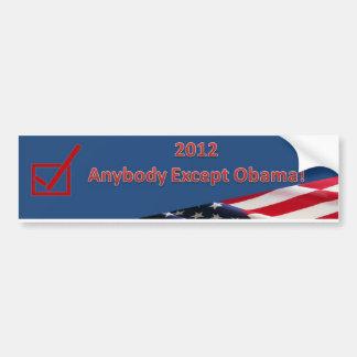 Vote Out Obama! Car Bumper Sticker