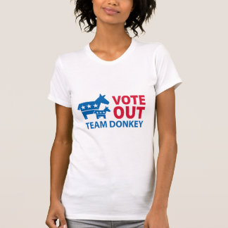 Vote Out Team Donkey T-Shirt