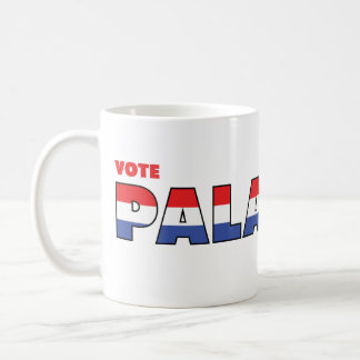 Vote Paladino 2010 Elections Red White and Blue Coffee Mug