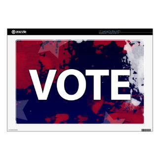 VOTE - Patriotic Camouflage Decals For Laptops
