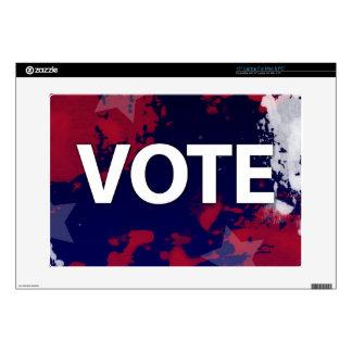 VOTE - Patriotic Camouflage Laptop Skin