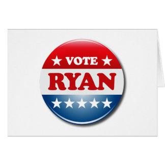 VOTE PAUL RYAN GREETING CARDS