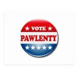 VOTE PAWLENTY POSTCARDS