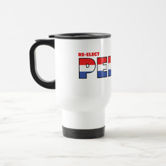 Vote Pelosi 2010 Elections Red White and Blue Travel Mug