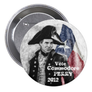 Vote Perry 2012 Pin
