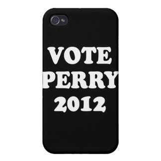 VOTE PERRY IN 2012 (white) iPhone 4/4S Case