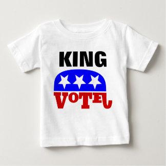 Vote Pete King Republican Elephant Baby T-Shirt