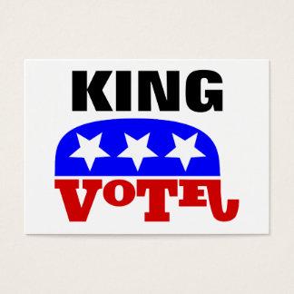 Vote Pete King Republican Elephant Business Card