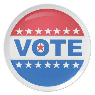 Vote Plate
