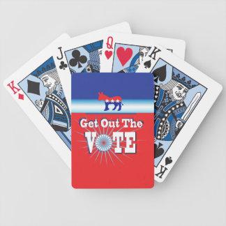 VOTE BICYCLE CARD DECK