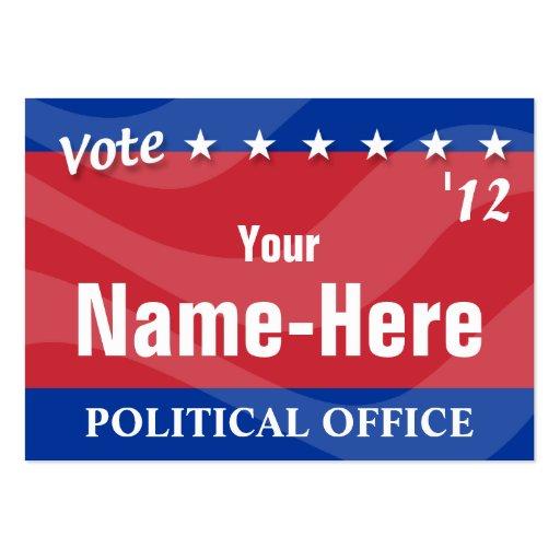 Election business card templates page2 bizcardstudio vote political campaign business cards colourmoves