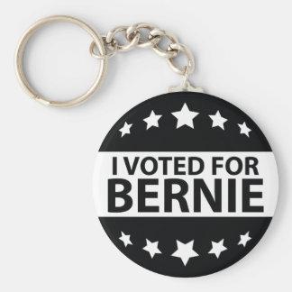Voté por Bernie Llavero Redondo Tipo Pin