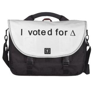 Voté por cambio bolsas para portatil